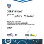 Certyfikat 2014 Krk