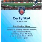 Certyfikat II 2014 Krk