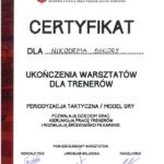 Certyfikat SS 2016